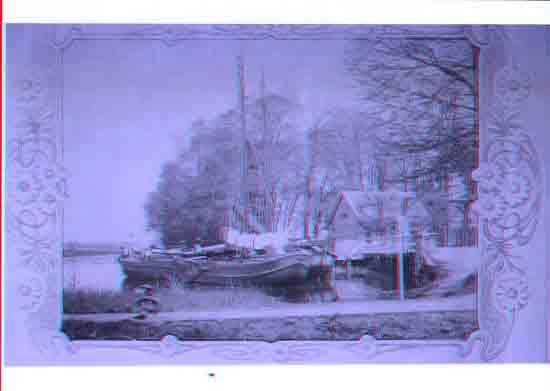 Oude-Opnames Vrachboten aan de steiger, o.a. voor de rietstekers<br><br> 8080_Historisch_Bovenkerk_Vrachtboten-aan-de-steiger.jpg