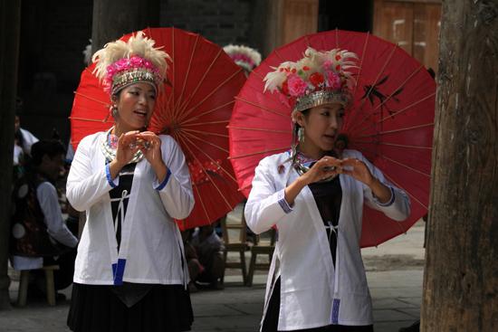 Zhaoxing De Chinese parasols als fraai decorstuk<br><br> 1350_2010.jpg