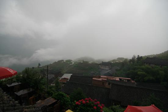 Longji De volgende dag regen ... <br><br> 1730_2344.jpg