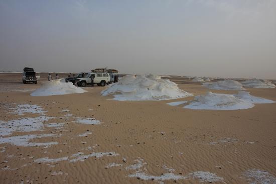 White-Desert Kalksteenformaties in The White Desert ten noordoosten van Farafra 0750-White-Dessert-near-Farafra-2529.jpg