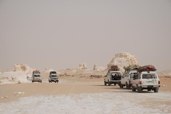 White-Desert Kalksteenformaties in The White Desert ten noordoosten van Farafra 0830-White-Dessert-near-Farafra-2600J.jpg