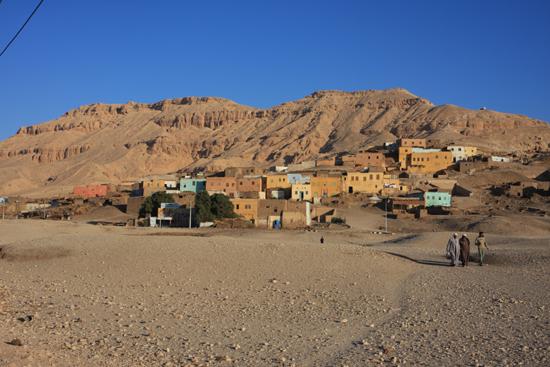 Luxor Dorpje op de Westoever van de Nijl - Luxor  2190-Luxor-dorpje-op-Westoever-4091.jpg
