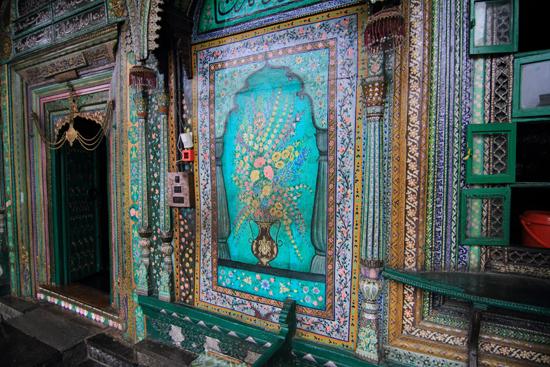 Srinagar2 Achtergevel van de Shah Hamdan Moskee<br><br> 1140-Shah-Hamdan-Mosque-Srinagar-Kashmir-3349.jpg