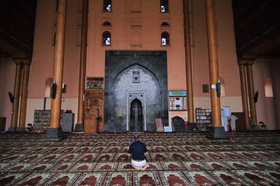 Srinagar2 Jama Masjid Moskee - de grootste moskee van Kashmir<br><br> 1190-Jam-Masjid-Srinagar-3375.jpg