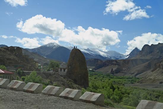 Lamayuru1 Mulbekh<br>Groot Maytreya Boeddhabeeld aan de binnenkant van  de rots (zie volgende foto)<br><br> 2070-Mulbekh-Maitreya-Buddha-Ladakh-3998.jpg