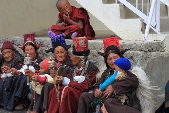 Lamayuru2 Iedereen is in afwachting van de Lama, wijzelf konden niet zo lang wachten, <br><br> 2320-Lamayuru-Ladakh-4203.jpg