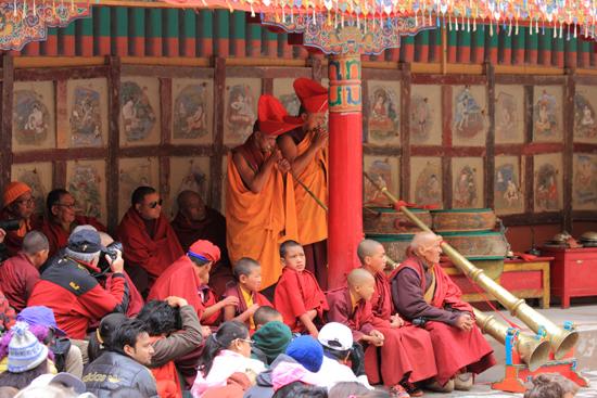 Hemis-Festival Het begin van de festiviteiten<br><br> 2550-Hemis-festival-Ladakh-4439.jpg