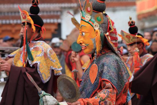 Hemis-Festival Fraai vervaardigde gewaden en maskers<br><br> 2610-Hemis-festival-Ladakh-4475.jpg
