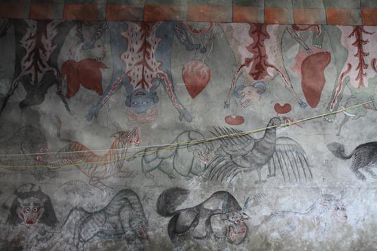Thikse Bijzondere wandschilderingen<br><br> 2740-Thikse-Thiksay-Ladakh-4557.jpg