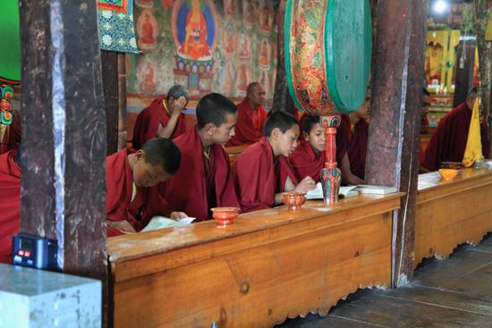 Thikse Nog veelal jonge monniken<br><br> 2780-Thikse-Thiksay-Ladakh-4576.jpg
