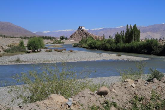 Stok Fraai gelegen klooster in de buurt van Leh<br><br> 3110-Omgeving-Leh-4733.jpg