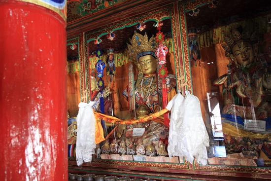 Matho Het laatste klooster dat we bezoeken<br><br> 3450-Spituk-klooster-Ladakh-4913.jpg