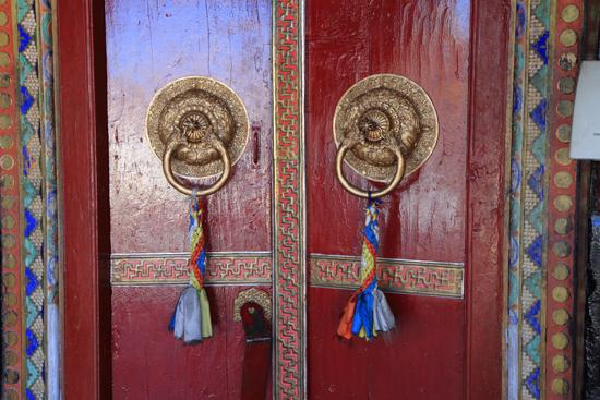 Matho Mooie toegangsdeuren<br><br> 3470-Spituk-klooster-Ladakh-4922.jpg