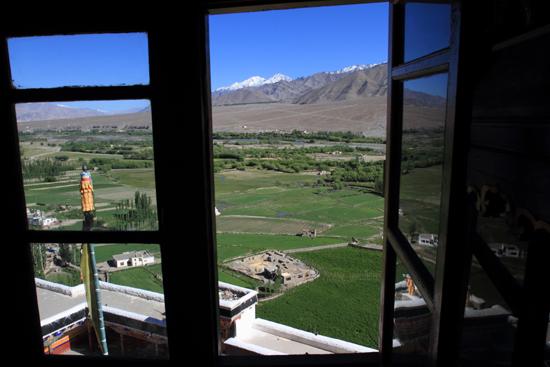 Matho De combinatie van schitterende cultuur �n natuur<br>maakt het voor iedereen interessant<br><br> 3500-Spituk-klooster-Ladakh-4931.jpg