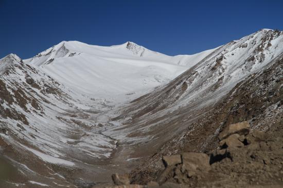 Khardung-La Gletscher bij de Khardung La pas<br><br> 3590-Khardung-La-Pass-Ladakh-5002.jpg