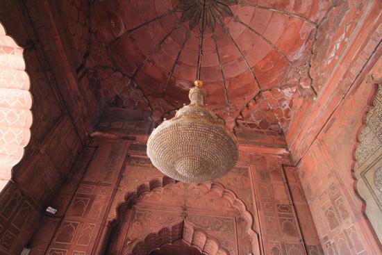 Ladakh-Delhi Prachtige kroonluchter<br><br> 3970-Jama-Mashid-Delhi-5169.jpg