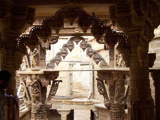 Jaisalmer Jain tempel in het centrum van Jaisalmer Jain-Tempel-Jaisalmer_2952.jpg