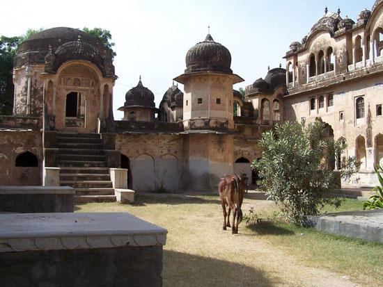 Mahansar Typerend tafereel in India Mahansar-Shekawati-Haveli_2778.jpg