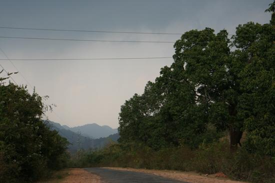 Adivasi-Tour2 Desolate roads in Orissa In Orissa zijn veel wegen vrijwel verlaten 2300_4557.jpg