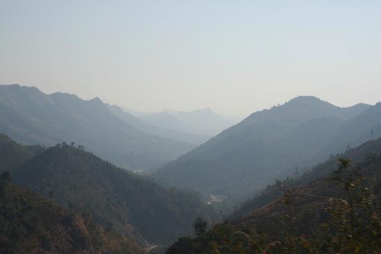 Adivasi-Tour7 The hills at sunset De bergen bij zonsondergangPrachtig landschap in Orissa 3200_5405.jpg
