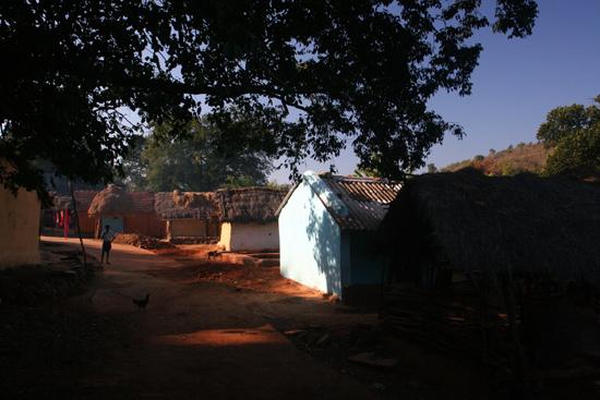 Adivasi-Tour8 Adivasi villages early in the morning Adivasi dorpen in de ochtendzon 3240_5445.jpg