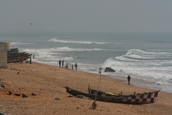 Gopalpur Fishing boats on the beach  Visserboten op het strand 3580_5769.jpg