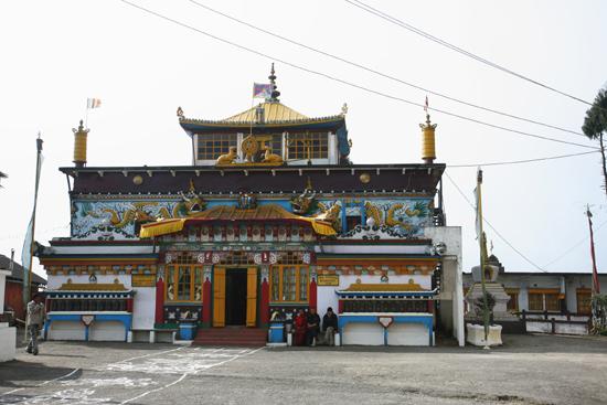 Darjeeling Yiga Choeling Monastery / Yiga Choling Gompa (1850)<br>Ghoom vlakbij Darjeeling<br><br> 0020_3251.jpg