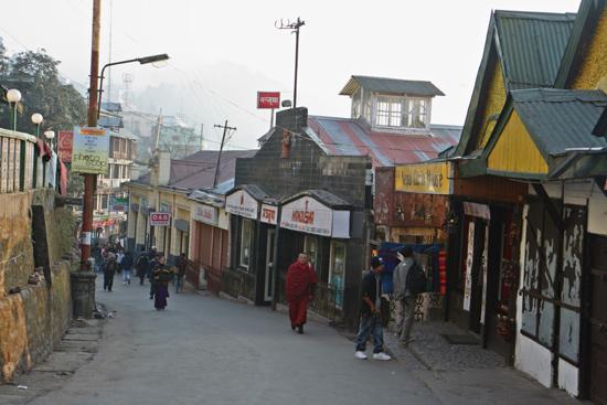 Darjeeling Het centrum van Darjeeling<br><br> 0160_3408.jpg