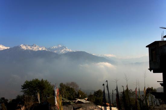 Pelling Imponerend uitzicht op Kanchenjunga en omgeving vanuit Pelling<br><br> 0262_3508.jpg