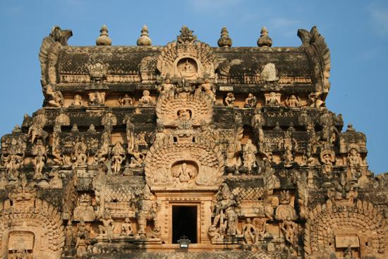 Tiruchirappalli Top van een van de torens op het uitgestrekte tempelcomplex IMG_6450.jpg