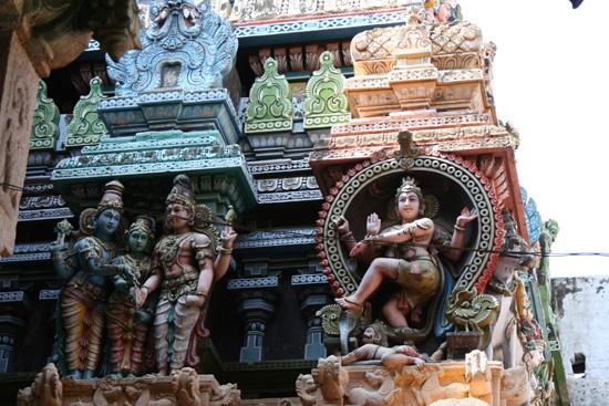 Madurai Opnieuw detail van een van de fraaie gevels IMG_6674.jpg