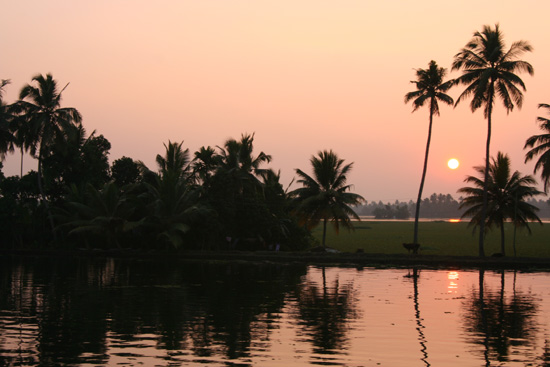 Backwaters Zonsondergang op de Backwaters IMG_7130.jpg