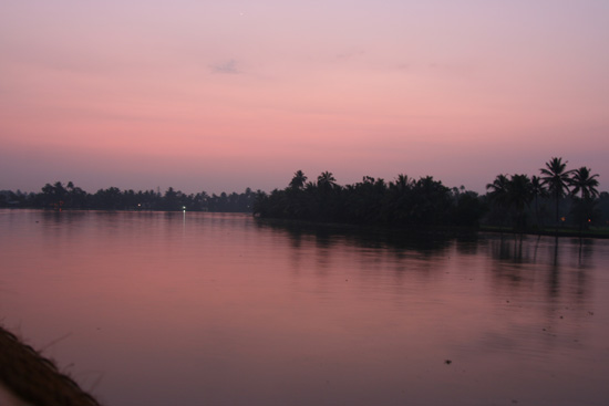 Backwaters Avondgloed over de backwaters IMG_7145.jpg