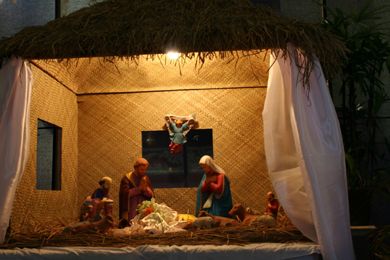 Cochin De kerststal in de Santa Cruz kathedraal IMG_7434.jpg