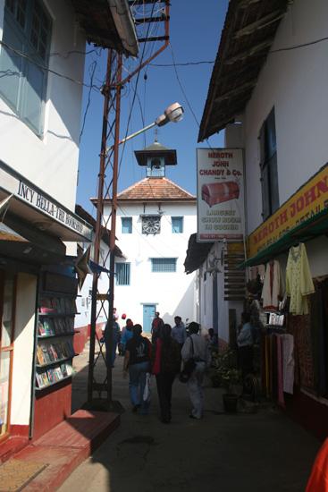 Cochin Joodse synagoge in het centrum van Cochin IMG_7504.jpg