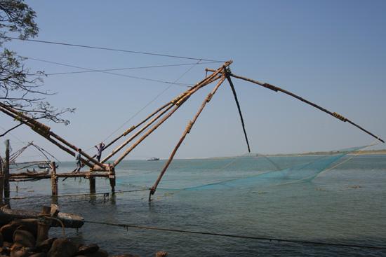 Cochin Opnieuw naar de chinese visnetten IMG_7566.jpg