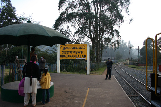 Ooty Stationnetje in Ooty (Udagamandalam) IMG_7812.jpg