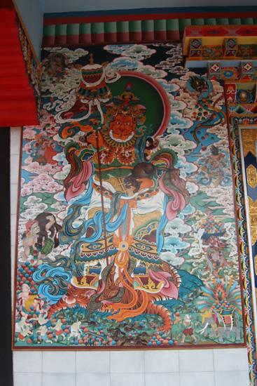 Madikeri Schitterende wandschilderingen en beelden in de tempels IMG_8264.jpg