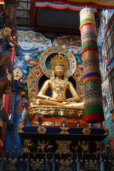 Madikeri BylakuppeTibetian Namdroling Monastry IMG_8297.jpg
