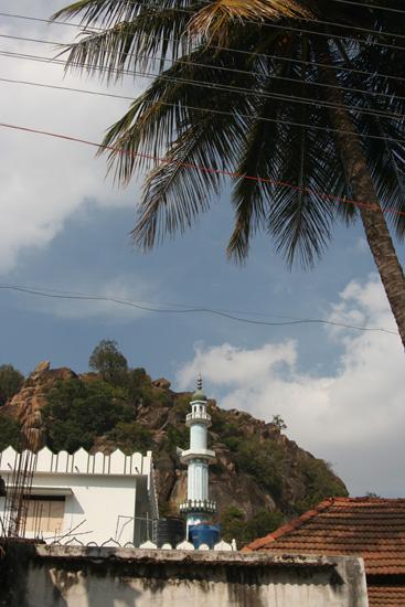 Belur Minaret van moskee in Sravanabelagola IMG_8465.jpg