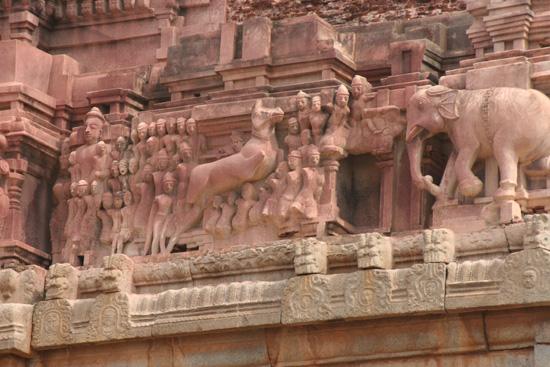 Hampi Zeldzame kleur voor tempelgevels IMG_8905.jpg