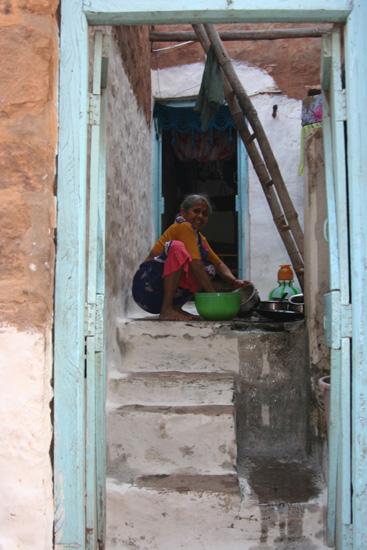 Badami Het schrobben van het huis IMG_9145.jpg