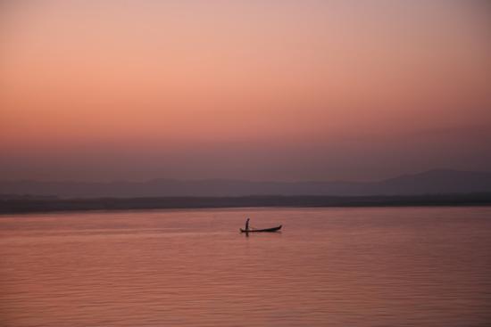 Mingun Irrawady rivier Zonsondergang   0920_5218.jpg