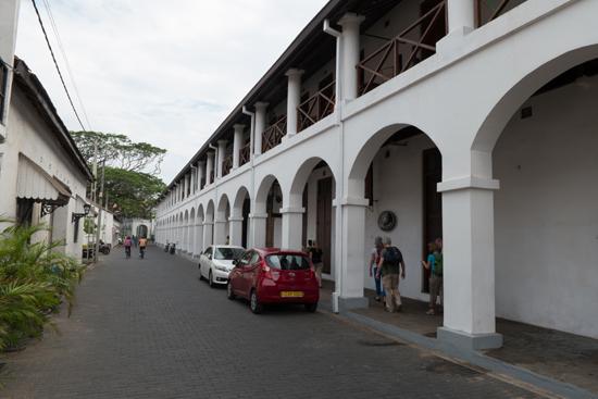 Galle Old Dutch hospital gebouwd door de Nederlanders in de 17e eeuw (VOC-periode)-0420