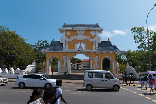 Dondra Devalaya - tempel  Toegangspoort-0670