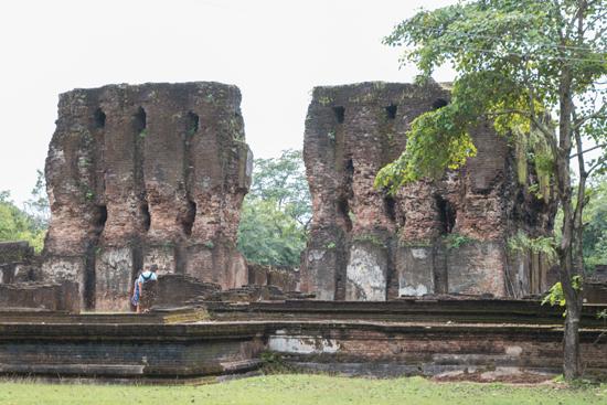 Polonnaruwa Ancient city  Vejayanta Pasada-2950