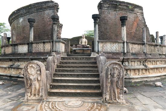 Polonnaruwa Ancient city  Vejayanta Pasada-3060