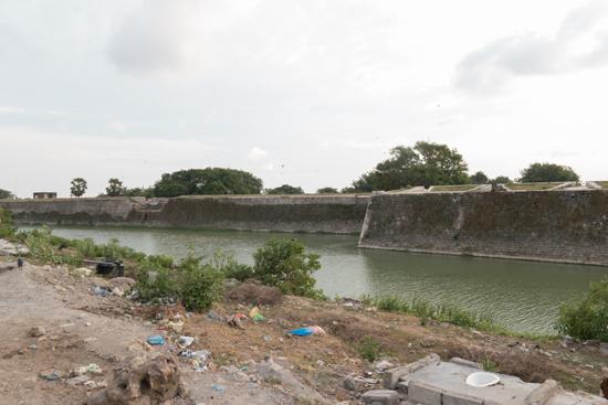Jaffna Eens een van de grootste Nederlandse forten in Azi� -3680