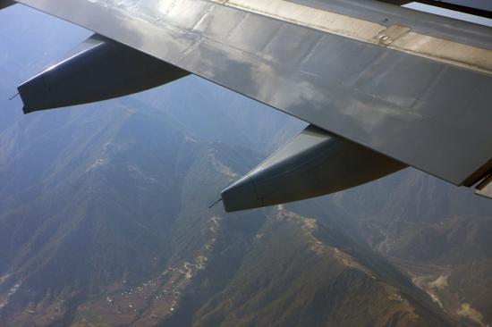 Uitzicht op Kathmandu - Nepal bij aankomst-0010