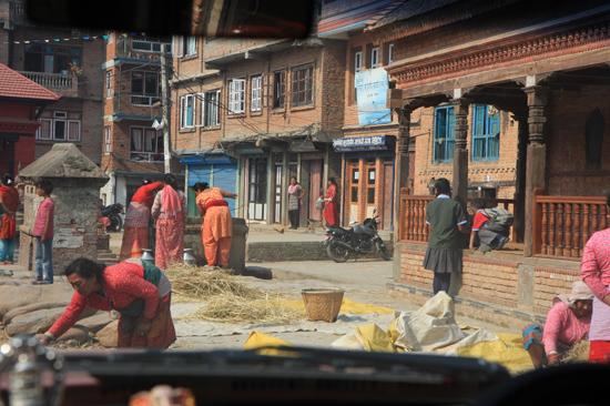 Plattelandsdorpje in de Kathmandu vallei-0300